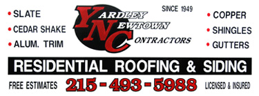 Yardley PA Roofing Contractor. Slate, Cedar Shake, Aluminum Siding, Copper, Shingles, Roofing Siding Gutters, Yardley Newtown , PA
